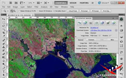 Avenza Geographic Imager 5.3 for Adobe Photoshop