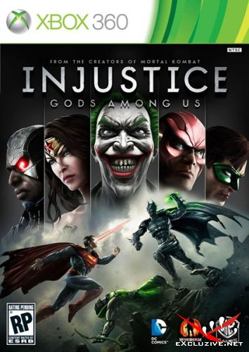 Injustice: Gods Among Us (2013/RUS/ENG/RF/XBOX360)