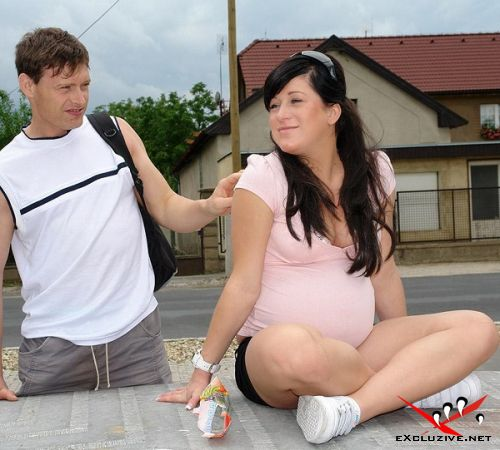 Kristina N - Pregnant teenager fucked (2013/HD)