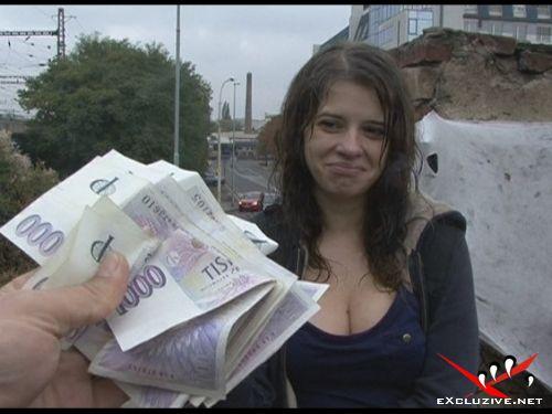 трахнул ха деньги чешку