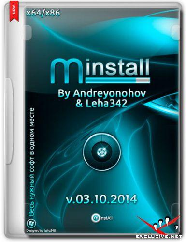 MInstAll v.03.10.2014 By Andreyonohov & Leha342 (RUS/2014)