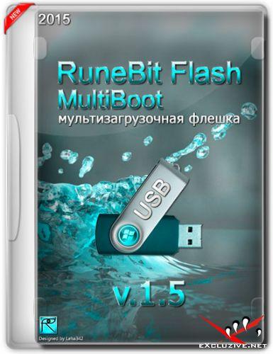 RuneBit Flash MultiBoot USB v.1.5 (RUS/ENG/2015)