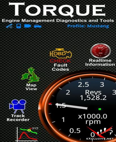 Torque Pro (OBD 2 & Car) 1.8.176 [Android]