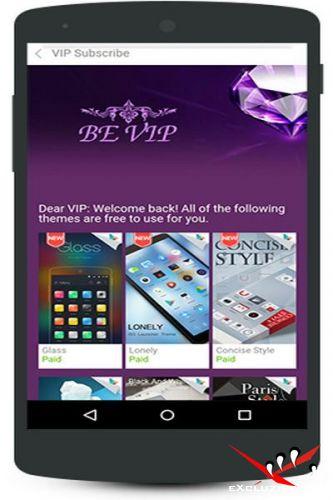 GO Launcher Z. Theme & Wallpaper Prime VIP 2.04 [Android]