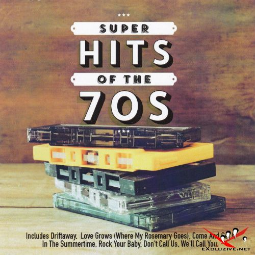 Super Hits Of The 70s (2CD, 2015)