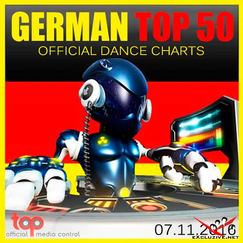 German Top 50 Official Dance Charts 07.11.2016 (2016)