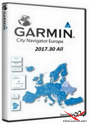 City Navigator Europe NT Unicode 2017.30 All