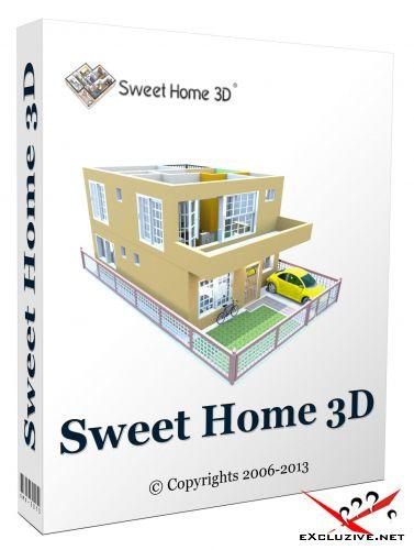Sweet Home 3D 5.4 Final Portable
