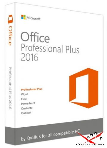 Microsoft Office 2016 Professional Plus / Standard 16.0.4498.1000 RePack by KpoJIuK
