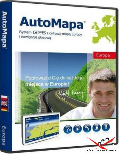 AutoMapa 6.23.0.2863 (Windows Mobile / WinCE / PC)