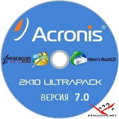 Acronis 2k10 UltraPack 7.10