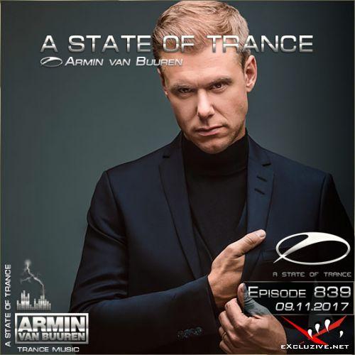 Armin van Buuren - A State of Trance 839 (09.11.2017)