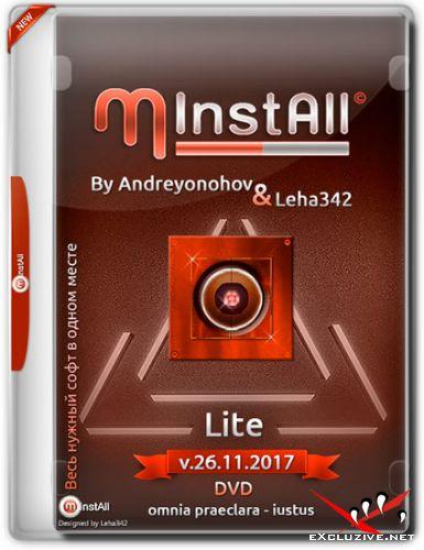 MInstAll by Andreyonohov & Leha342 Lite v.26.11.2017 (RUS)
