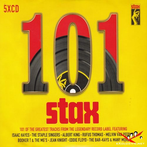 101 Stax Records [5CD] (2017)