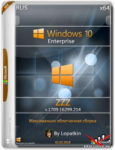Windows 10 Enterprise x64 16299.214 RS3 ZZZ (RUS/2018)