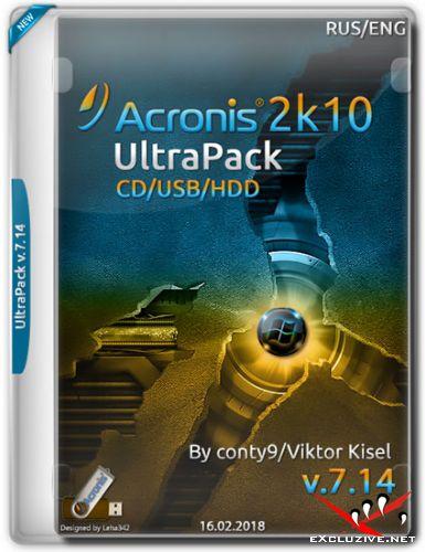 Acronis UltraPack 2k10 v.7.14 (RUS/ENG/2018)