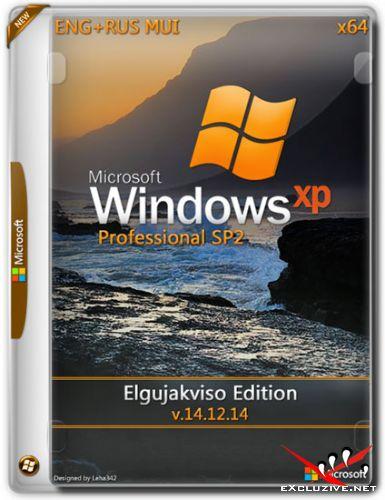 Windows XP Pro SP2 x64 Elgujakviso Edition v.14.12.14 (ENG+RUS)