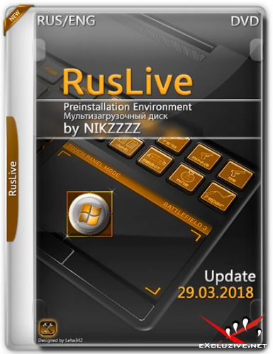 RusLiveFull DVD by NIKZZZZ Update 29.03.2018 (RUS/ENG)