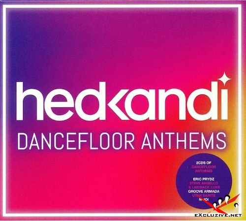 Hed Kandi: Dancefloor Anthems (2CD, 2018)