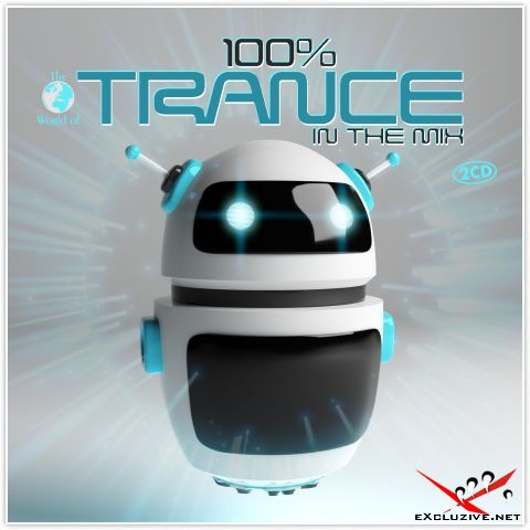 100% Trance In The Mix (2CD, 2018)