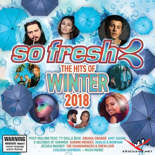 So Fresh: The Hits Of Winter 2018 (2018), 100 Hits The Best Dance Album (5CD, 2018)