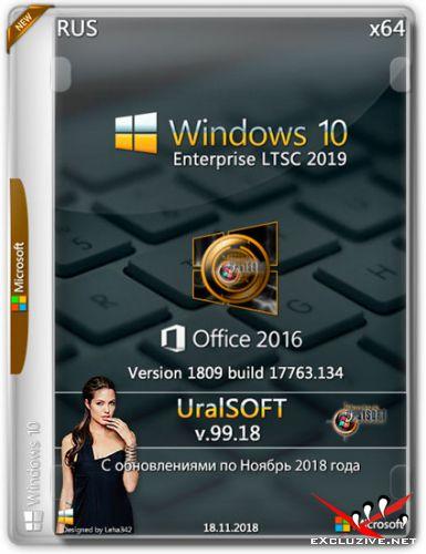 Windows 10 Enterprise LTSC x64 1809 & Office2016 v.99.18 (RUS/2018)
