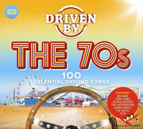 Driven By The 70s (5CD, 2018)