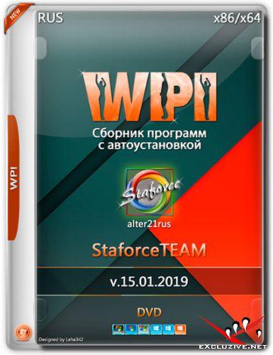 WPI StaforceTEAM v.15.01.2019 by alter21rus (RUS)