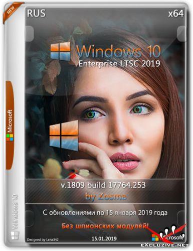 Windows 10 Enterprise LTSC 2019 x64 v.1809 by Zosma 15.01.2019 (RUS)