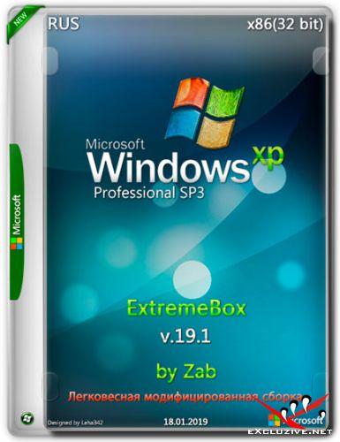 Windows XP Professional SP3 x86 ExtremeBox v.19.1 by Zab (RUS/2019)