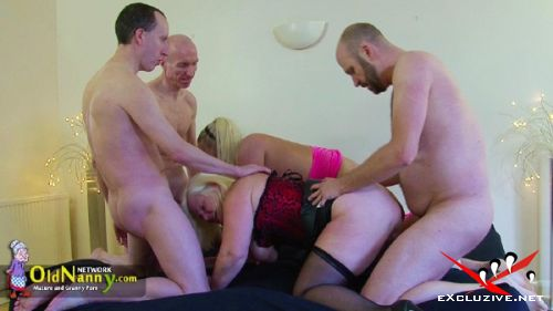 Lacey Starr - Lacey Starr fucked anal in group sexparty (2019/HD)