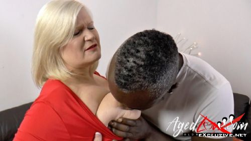 Lacey Starr - British pornstar Lacey has anal sex with black guy (2019/HD)