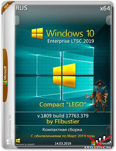 """Windows 10 Enterprise LTSC 1809.17763.379 Compact """"Lego"""" By Flibustier (RUS/2019)"""