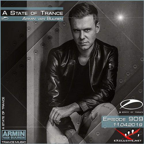 Armin van Buuren - A State of Trance 909 (11.04.2019)