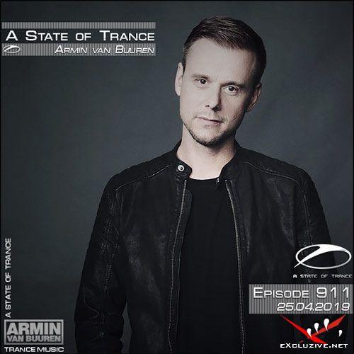 Armin van Buuren - A State of Trance 911 (25.04.2019)