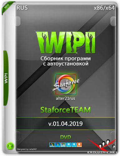 WPI StaforceTEAM v.01.04.2019 by alter21rus (RUS)