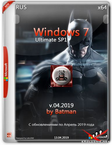 Windows 7 Ultimate SP1 x64 by Batman v.04.2019 (RUS)
