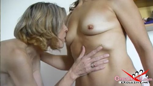 Rita, Pauline - Granny get licked her tits by mature woman (2019/SD)