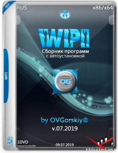 WPI DVD by OVGorskiy® v.07.2019 (RUS)
