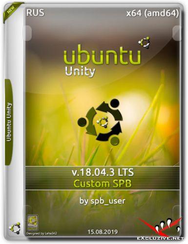 Ubuntu Unity x64 v.18.04.3 LTS Custom SPB (RUS/2019)