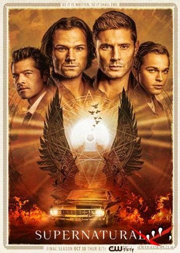 Сверхъестественное / Supernatural (15 сезон/2019/WEB-DL/720p/WEB-DLRip/HDTVRip)