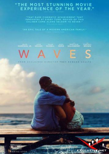 Волны / Waves (2019) DVDScr